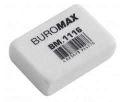 Гумка Buromax 26x18x8мм, 1шт, каучук (BM.1116)