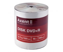 Диск DVD-R Axent 4.7GB 120 min 16X 100 штук (8107-A)