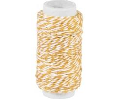 Декоративна нитка Knorr Prandell подвійна Оранжева 20м (2162660011)