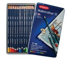 Набір акварельних олівців Derwent Watercolour 12 шт (32881)