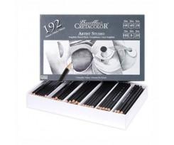 Набір з 192-х олівців Cretacolor 2.8 мм чорний (90514099)