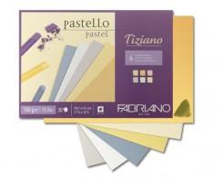 Cклейка для пастелі Fabriano Tiziano А4 30 аркушів 160 г/м2 (46021297)
