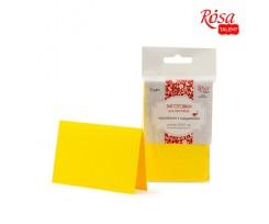Набір заготовок для листівок ROSA TALENT 5 шт 103х70 мм №2 жовтий 220 г/м2 (94099001)