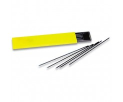 Грифелі Koh-i-Noor  для цангового олівця 2 мм 12 шт чорний (GKH4190.HB)