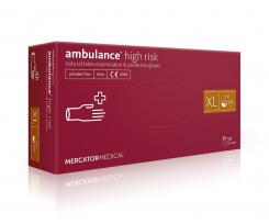 Рукавички Pro Service Ambulance нестерильні Xl 50 штук синій (pr.04172)