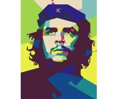 """Набір-стандарт, акриловий живопис за номерами ROSA START """"Ернесто Че Геваро"""", (N00013158)"""
