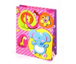 Пакет подарунковий Angel Gifts, 26*32*10 см, 4 дизайни (Я02665_8872B)