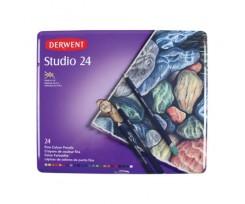 Набір кольорових олівців Derwent Studio, 24 кол.,  (32197)