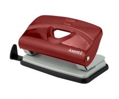 Діркопробивач Axent Exakt-2 металевий, 10 аркушів, червоний (3910-06-a)