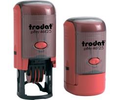Датер Trodat Рrinty з вільним полем 25 мм шрифт 2.8 мм пластиковий червоний (46125)