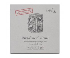 Альбом для ескізів Smiltainis AUTHENTIC (Bristol) 14,8*14,8см, 32 аркушів, 185г/м2, (FB-32(185)