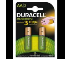 "Акумулятор AA ""Duracell"" 1300 mAh 2штупак"