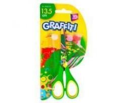 Ножиці дитячі Cool for school GRAFFITI асорті 135 мм (CF49454-03)