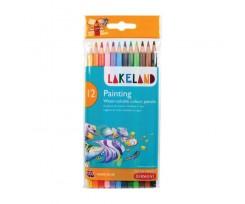 Набір акварельних олівців Derwent Lakeland Painting 12 кольорів 2.9 мм (33254)