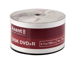 Диск DVD-R Axent 4.7GB 120 min 16X 50 штук (8108-A)