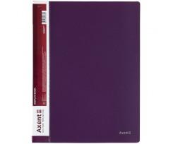 Дисплей книга Axent з 40 файлів A4 поліпропілен сливова (1040-11-A)