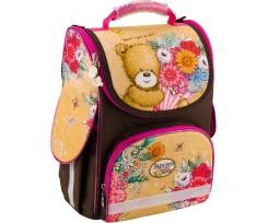 Рюкзак шкільний Kite Popcorn the Bear 34x26x13 см 11 л бежево-коричневий (po18-501s-2)