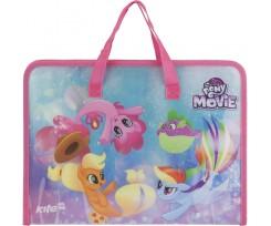 Портфель на блискавці Kite My Little Pony 1 відділення A4 РР (lp17-202-02)