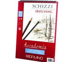 Альбом для ескізів Fabriano Accademia А4 50 аркушів 120 г/м2 дрібне зерно (16F5201)