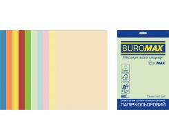 Набір кольорового паперу Buromax Super Mix А4 250 аркушів асорті (BM.27216250E-99)