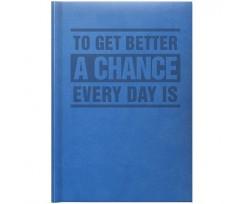 Щоденник Brunnen Агенда Torino Trend 14.5x20.6 см 320 аркушів блакитний (73-796 38 331)