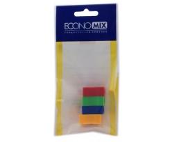 Набір чинок Economix 4 штук асорті (E19978)