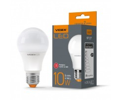 Лампа Videx LED 10 W E27 4100 K 220 V (VL-A60e-10274)