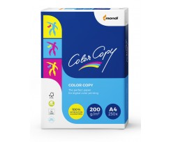 Папір Mondi Color Copy, А4, 200 гм2, 250 аркушів, білий (A4.200.CC)