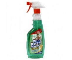 Засіб чистячий для скла Містер Мускул 500 мл зелений (w.00153)