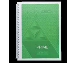 Зошит Buromax PRIME, на пружині, А4, 96 аркушів, клітка, салатовий (BM.24451101-15)