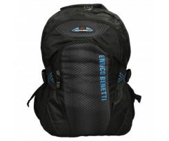Рюкзак для ноутбука Enrico Benetti Bonaire 32x44x18 см 25 л Black-Kobalt (Eb47091 058)