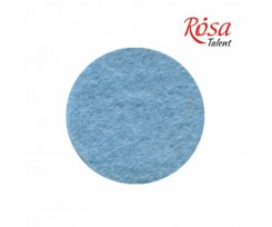 Фетр листковий ROSA TALENT 215х280 мм поліестер Блакитний пастельний 180 г/м2 (165FW-H015)
