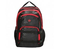 Рюкзак для ноутбука Enrico Benetti Natal 32x46x24 см 35 л Black-Red (Eb47105 618)