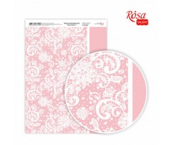Папір дизайнерський ROSA TALENT Love story 1 А4( 210х297 мм) 250г/м2 (5311058)