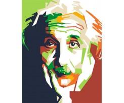 """Набір-стандарт, акриловий живопис за номерами ROSA START """"Альберт Ейнштейн"""", (N00013154)"""
