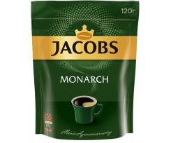 Кава Jacobs Monarch розчинна 120 г пакет (prpj.90946)