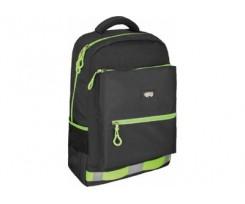 Рюкзак молодіжний Cool For School 44x28x16 см 16-25 л чорний (CF86434)