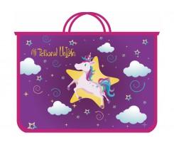Портфель на блискавці Cool For School My Unicorn А4 пластиковий (CF30000-04)