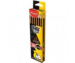 Набір з 12-ти олівців Maped 2 мм чорний (MP.850022)