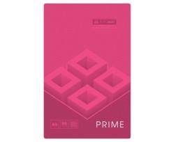 Зошит Buromax PRIME, на пружині, А5, 96 аркушів, клітка, рожевий (BM.24551101-10)