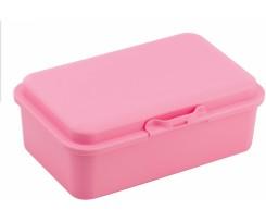 Ланч-бокс Economix Snack 16.8х11.1х6.5 см пастельно рожевий (E98377)