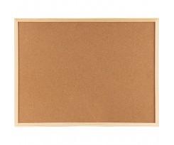 Дошка Axent коричнева коркова 90х120 см дерев'яна рамка (9603-A)