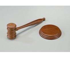 Молоток судді Bestar дерево горіх (3824WDN)
