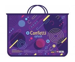 Портфель на блискавці Cool For School Сonfetti А4 пластиковий (CF30001-06)