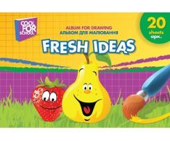 Альбом для малювання Cool for school A4 20 аркушів (CF60903-07)