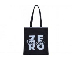 Екосумка-шопер Maxi Zero waste 27х32 см чорна (MX86279)
