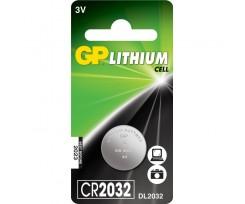 Батарейка GP Lithium Button Cell 3.0V CR2032-8U5