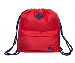 Міський рюкзак  COOLPACK URBAN BACKPACK (SACK) RASPBERRY/COBALT, червоний (B1300)