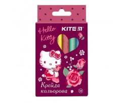Крейда Kite Hello Kitty, кольорова, 12 кольорів (HK19-075)