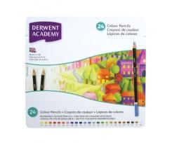 Набір кольорових олівців Derwent Colouring Academy, 24 кол., (2301938)